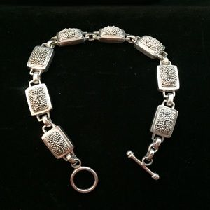 Jewelry - Fantastic Sterling Toggle Bracelet